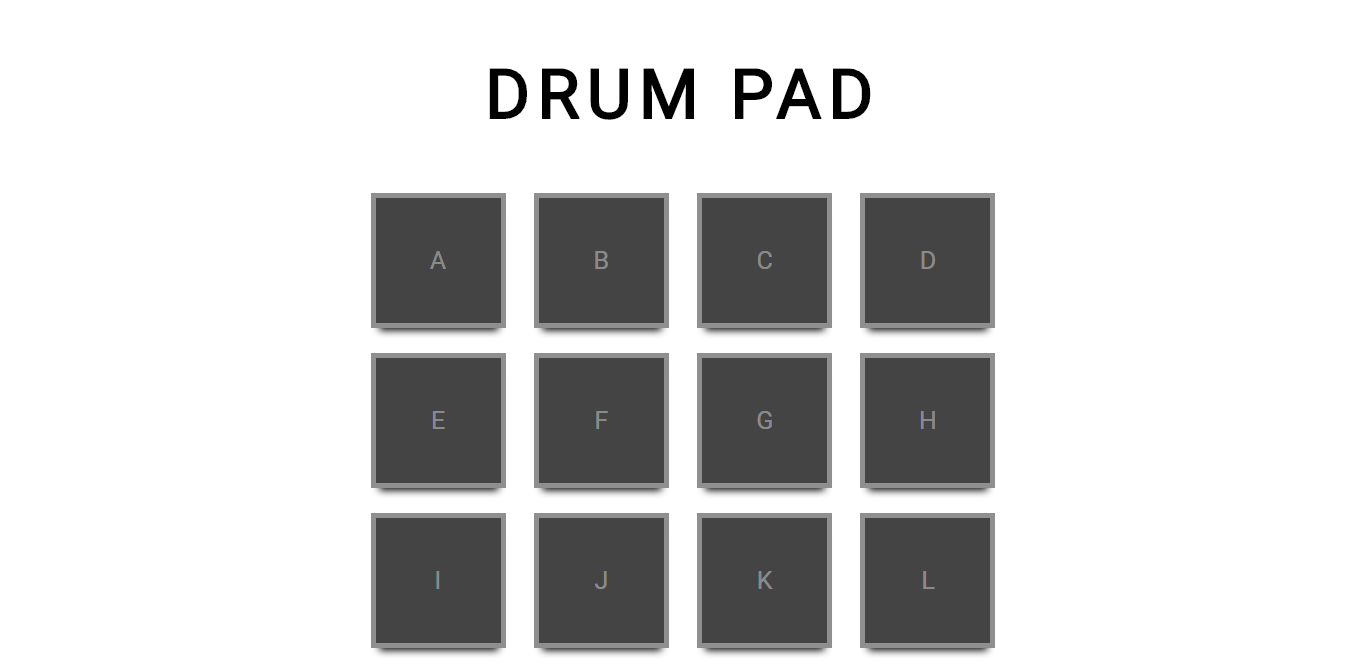 Drum Pad demo